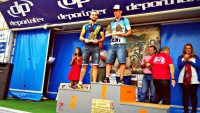 Podium de David en LA PALMA -DESAFIO DEL TINTO - VIDEO